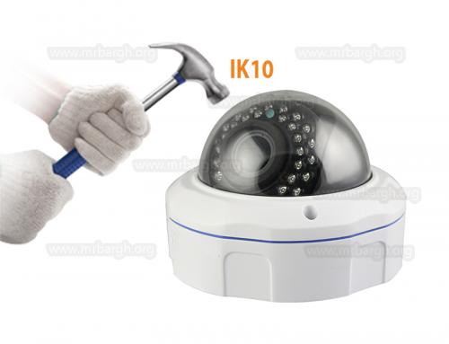 استاندارد IP و IK در دوربین مدار بسته