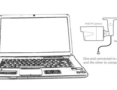 اتصال دوربین مداربسته IP به رایانه بدون نیاز به اینترنت
