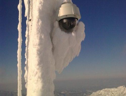 تاثیر دما بر دوربین مداربسته و عملکرد آن